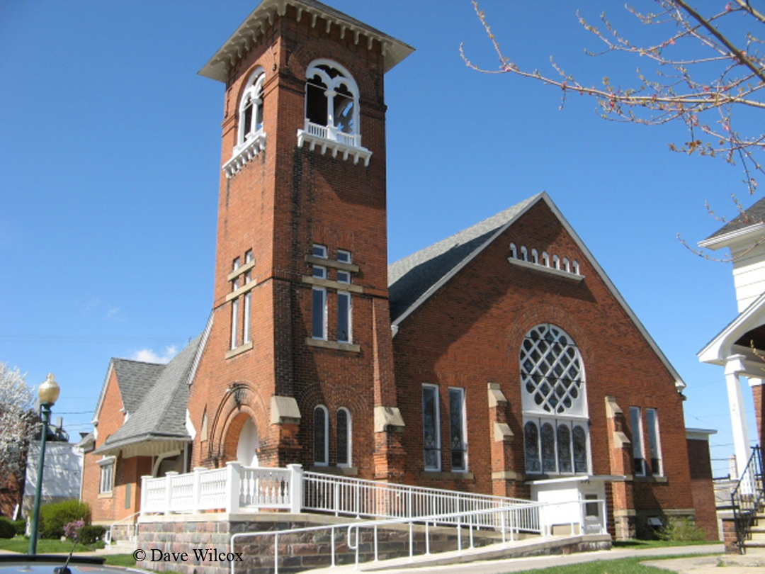 First Congregational Church - Southeast view
