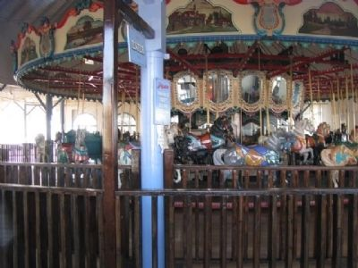 The Santa Monica Pier Carousel image. Click for full size.