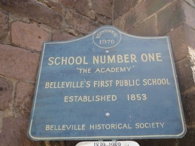 School Number One Marker image. Click for full size.
