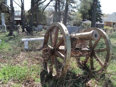 Belleville Church Cannon image. Click for full size.