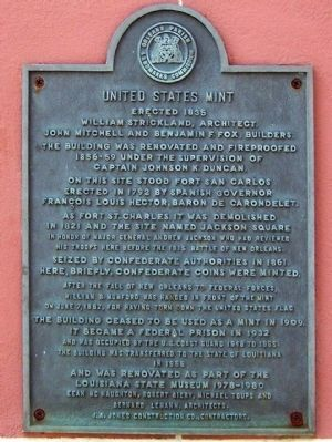 United States Mint Marker image. Click for full size.