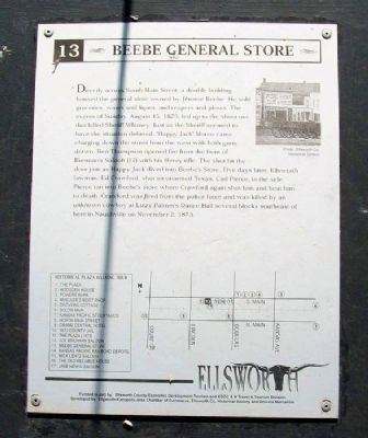 Beebe General Store Marker image. Click for full size.