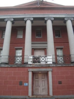 The United States Mint - entrance image. Click for full size.