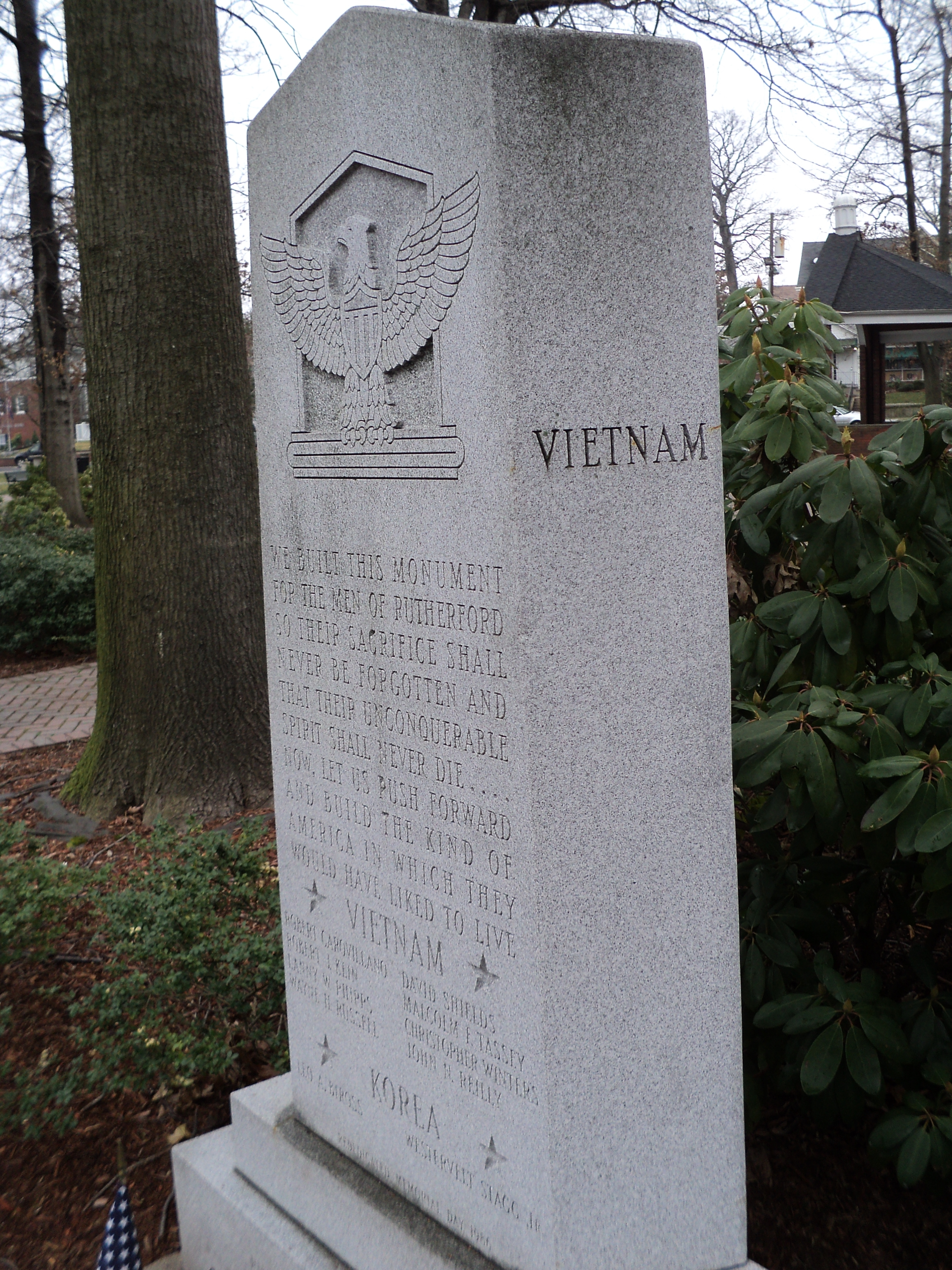Right Side of Memorial