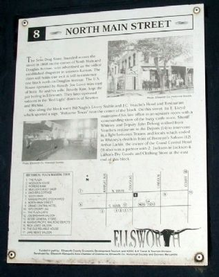 North Main Street Marker image. Click for full size.