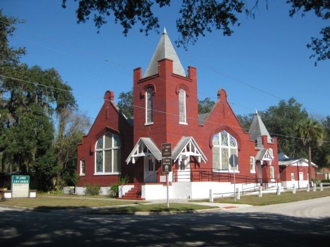 St. James African Methodist Episcopal Church image. Click for full size.