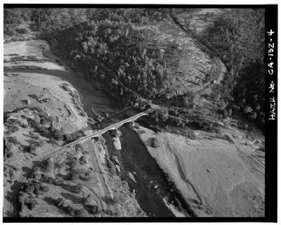 The Yuba River Bridge at Parks Bar image. Click for full size.
