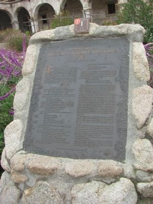 The Founding Documents of Mission San Juan Capistrano Marker image. Click for full size.