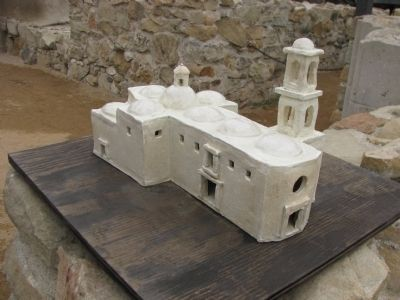 Model of Mission San Juan Capistrano image. Click for full size.