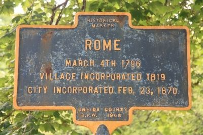 Rome Marker image. Click for full size.