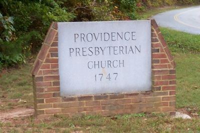 Providence Presbterian Church image. Click for full size.
