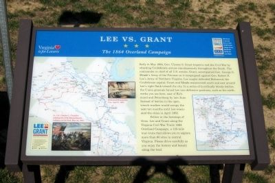 Lee vs. Grant CWT Marker image. Click for full size.