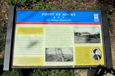 Point of Rocks CWT Marker image. Click for full size.