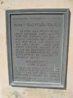 Fages-Zalvidea Trails Marker image. Click for full size.
