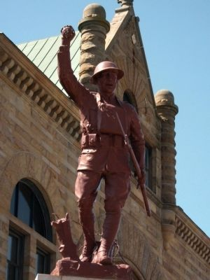 "Top Statue - - ""Spirit of the American Doughboy"" image. Click for full size."