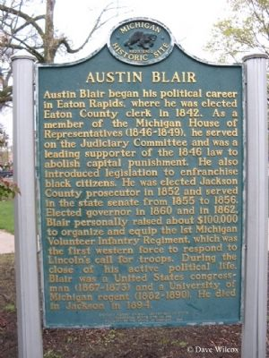Austin Blair Marker Side 2 image. Click for full size.