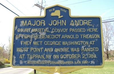Major John Andre Marker image. Click for full size.