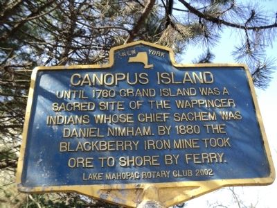 Canopus Island Marker image. Click for full size.