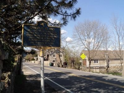 Marker in Mahopac image. Click for full size.