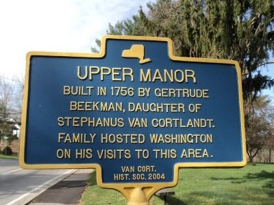 Upper Manor Marker image. Click for full size.