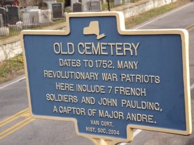 Old Cemetery Marker image. Click for full size.