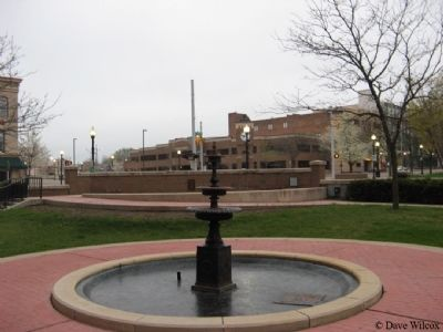 Jacksonburg Public Square and Bucky Harris Park image. Click for full size.
