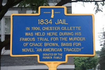 1834 Jail Marker image. Click for full size.