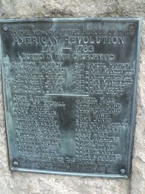 Heroes of the American Revolution Marker image. Click for full size.