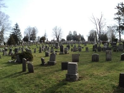 Graves in Hillside Cemetery image. Click for full size.