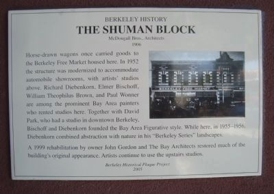The Shuman Block Marker image. Click for full size.