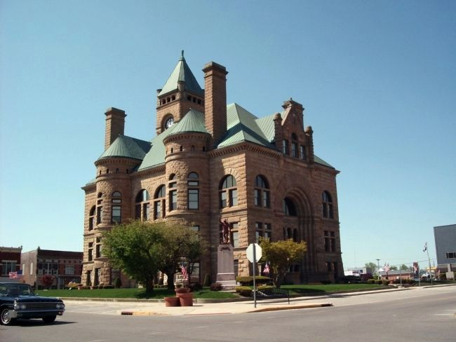 Blackford County Courthouse image. Click for full size.