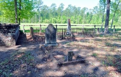Burnt Church Cemetery image. Click for full size.