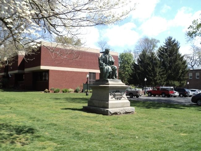 Monument in Buchanan Park image. Click for full size.