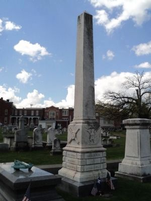 Grave of Maj. Gen. John Fulton Reynolds image. Click for full size.
