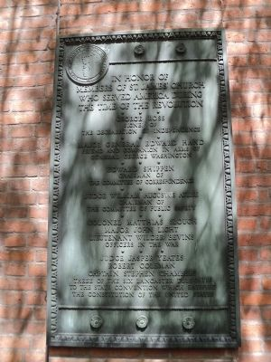 Patriots of St. James Church Marker image. Click for full size.