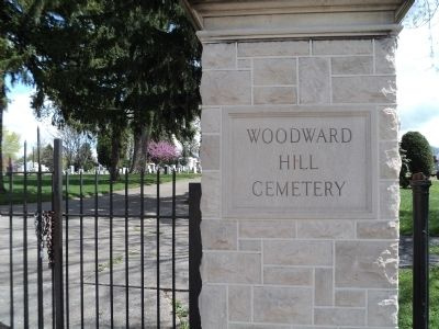 Woodward Hill Cemetery image. Click for full size.