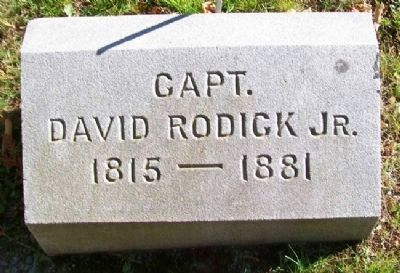Rodick Gravestone in Village Burying Ground image. Click for full size.