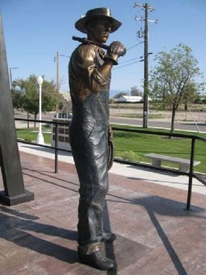Oilworker Memorial image. Click for full size.