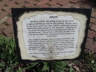 Privy Marker image. Click for full size.