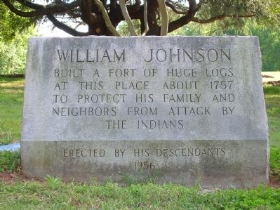 William Johnson Marker image. Click for full size.
