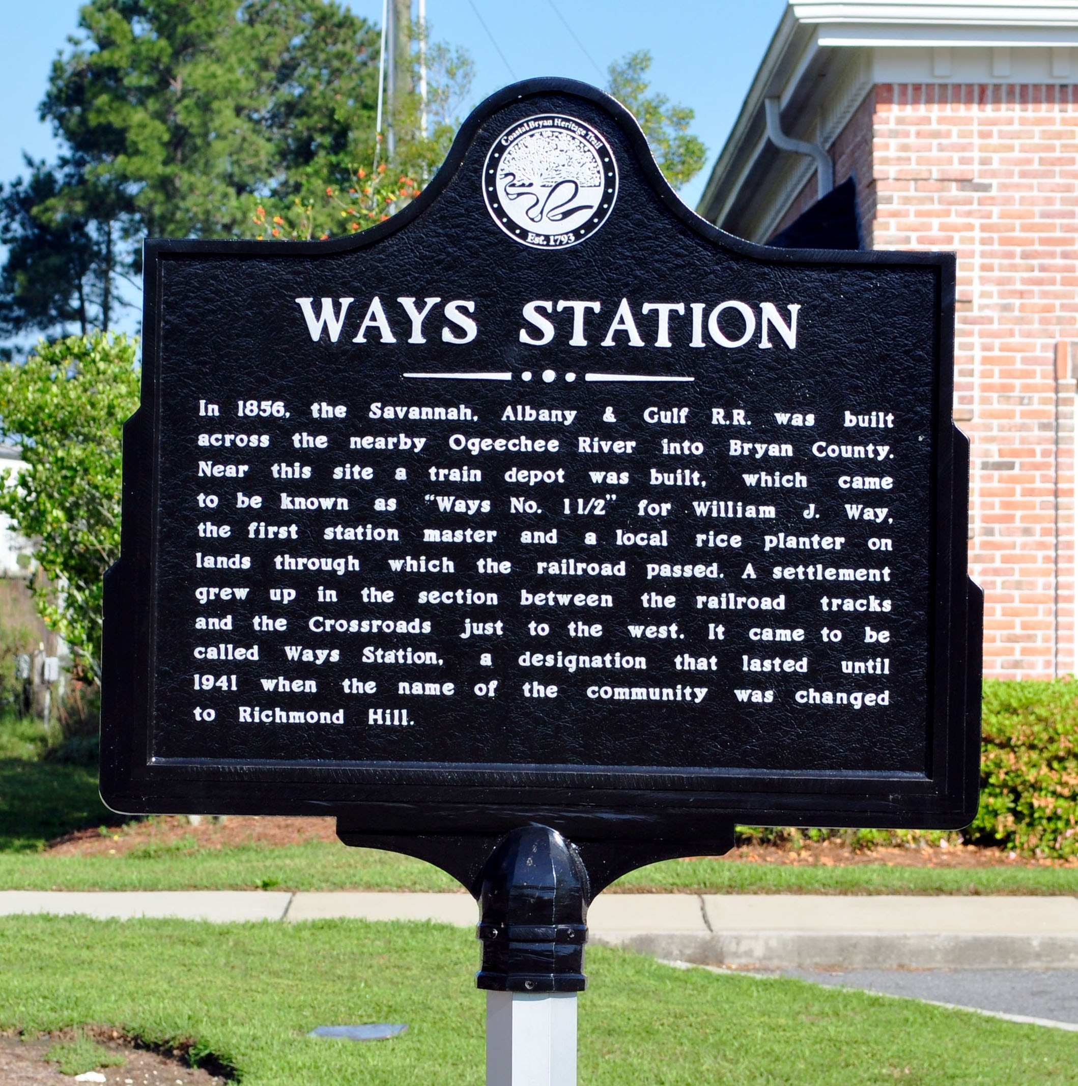 Ways Station Marker