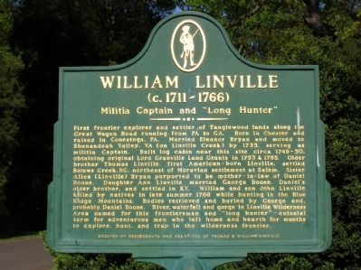 William Linville Marker image. Click for full size.
