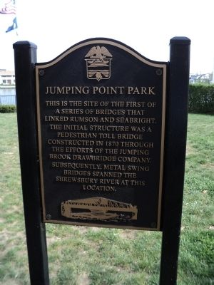 Jumping Point Park Marker image. Click for full size.