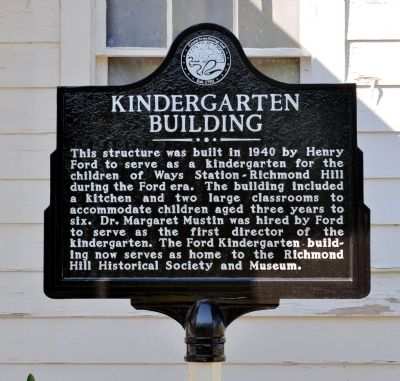 Kindergarten Building Marker image. Click for full size.