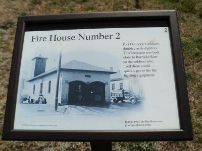 Fire House Number 2 Marker image. Click for full size.