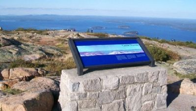 Cadillac Mountain Marker image. Click for full size.