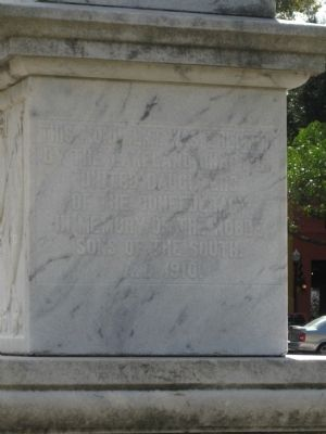 Polk County Confederate Monument image. Click for full size.