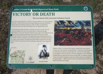 Victory or Death Marker image. Click for full size.