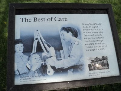 The Best of Care Marker image. Click for full size.