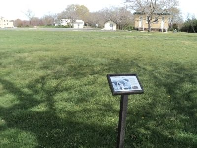 Marker in Fort Hancock image. Click for full size.